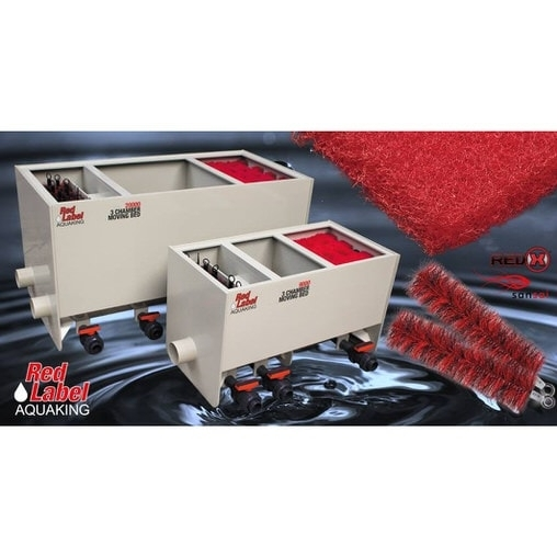 Фильтрующие щетки Sansai Filterborstel Zwart/Rood 15x30cm