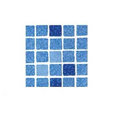 пленка пвх для бассейна elbeblau mosaic blue - мозаика синяя (ширина 1.65 м) Elbtal Plastics GmbH & Co. KG (Германия) пленка для бассейна