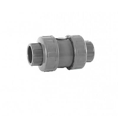 обратный клапан c 2-мя разъемными соединениями пвх coraplax - d 63 мм Coraplax (Испания) краны, обратные клапана