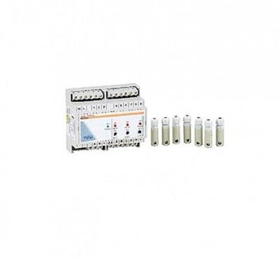 электронный контроль уровня воды (на din рейке) + 7 датчиков Vagner (Чехия) автоматический контроль уровня воды