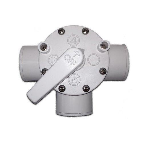 трехпозиционный кран пвх aquaking AquaKing (Нидерланды) задвижки и краны для труб пвх