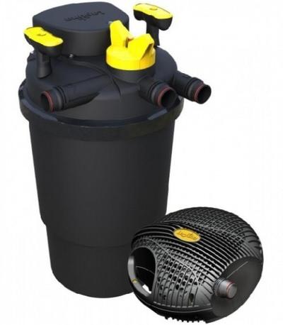 комплект фильтрации hagen laguna clear-flo 14000 uv 24 w Hagen (Италия) напорные фильтры для прудов