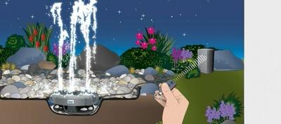 компактный фонтан oase water trio Oase (Германия) фонтанные комплекты