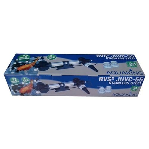 уф - стерилизатор для пруда aquaking rvs² juvc-55 корпус нерж AquaKing (Нидерланды) уф-стерилизаторы