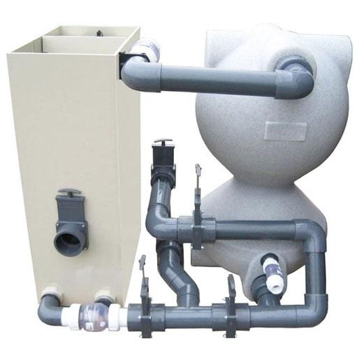 Биологический фильтр для пруда (УЗВ) Air-Aqua SuperBead Large (white)