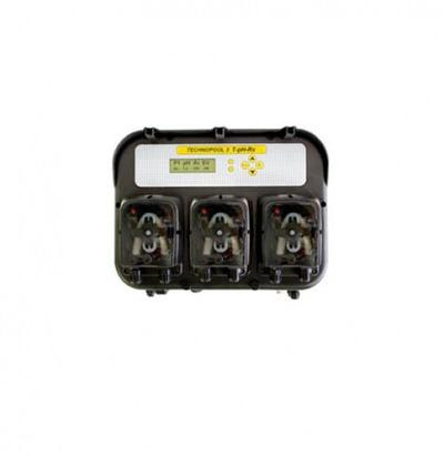 вимірювально-дозуюча станція aqua technopool ph rx temp c тремя насосами AQUA Technopool дозирующее оборудование