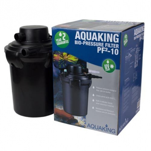 напорный фильтр для пруда aquaking pf²-10 eco AquaKing (Нидерланды) напорные фильтры для прудов