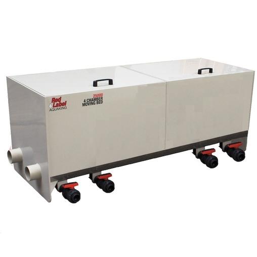 четырехкамерный проточный фильтр для пруда aquaking red label 4 chamber filter 25000 AquaKing (Нидерланды) проточные фильтры для прудов