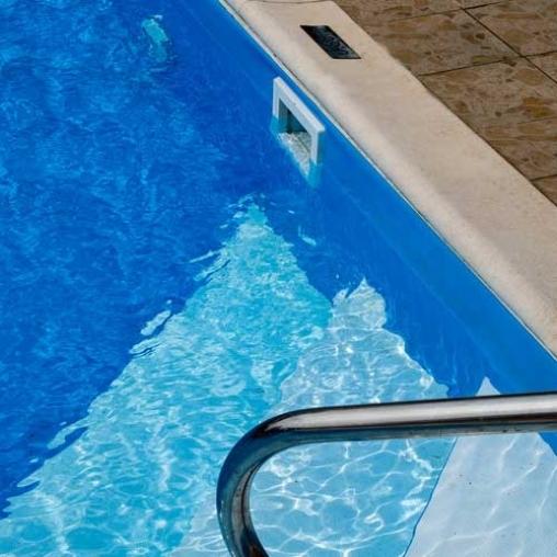 Плівка ПВХ для басейну OgenFlex протиковзка, блакитна (ширина 1.65 м)