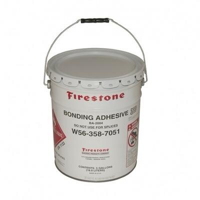 клей монтажный bonding adhesive   firestone, 10 л Firestone Building Products (США) клей для пленки пвх и epdm
