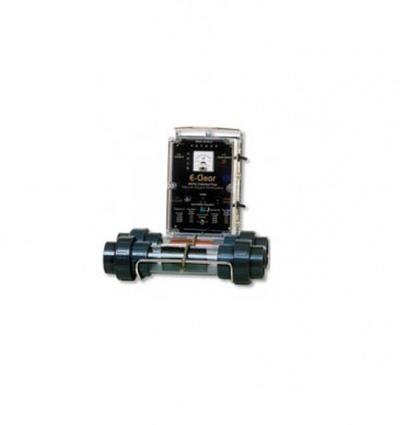 бесхлорная система дезинфекции воды e-clear mk7/cf1-75  до 80 м3 E-clear (Англия) оборудование для безхлорной обработки воды