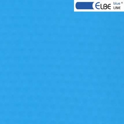 Пленка ПВХ для бассейна Elbeblue line Adriatic blue, синяя (ширина 1.65 м)