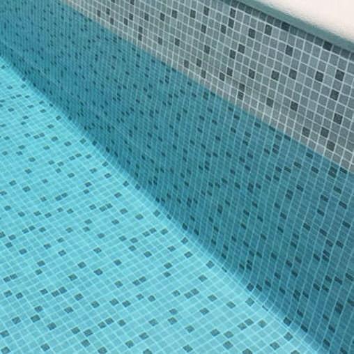 Плівка ПВХ для басейну Elbeblue line Mosaic grey, мозаїка сіра (ширина 1.65 м)