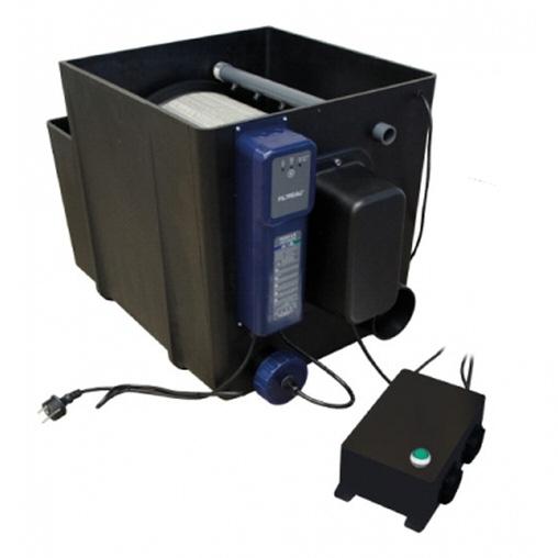 барабанный фильтр для пруда (узв) filtrea drum-filter incl. uvc 40 w (pump-fed) Filtreau (Нидерланды) барабанные фильтры