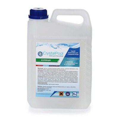 флокулянт crystal pool floc ultra liquid - 5 л Crystal Pool (Германия) химия для бассейна