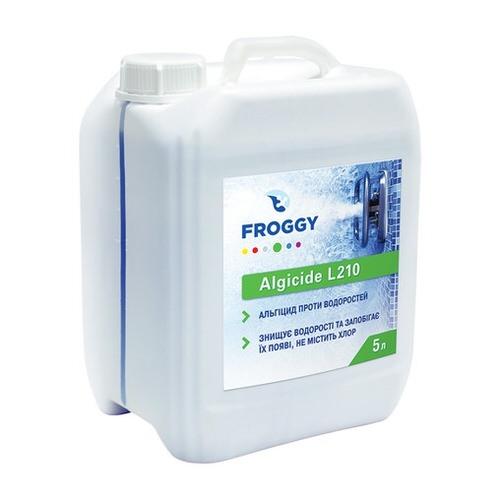 альгицид froggy algicide l210 - 5 л Коагулянт (Украина) химия для бассейна