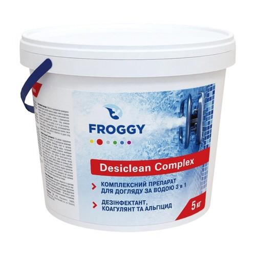 мульти таб 3в1 froggy desiclean complex - 5 кг (200 гр.) Коагулянт (Украина) химия для бассейна