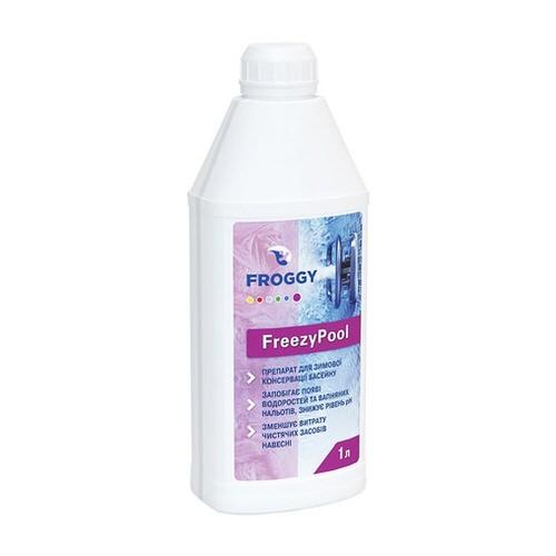 зимний консервант froggy freezypool - 1 л Коагулянт (Украина) химия для бассейна