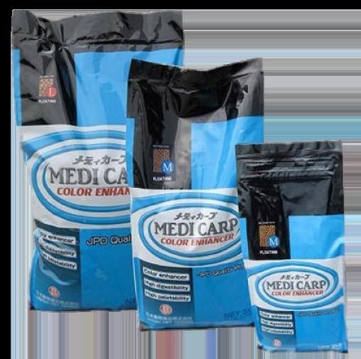 корм для кои medicarp color enhancer jpd 5 кг JPD (Япония) корм для прудовых рыб
