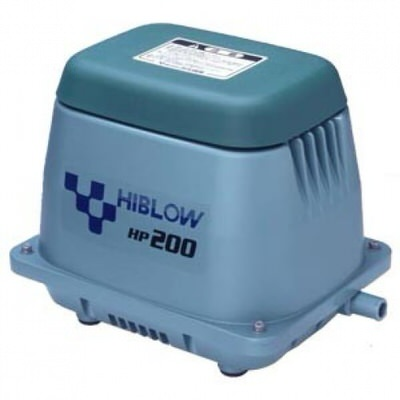 компрессор для пруда, hiblow hp-200 Techno Takatsuki Co., LTD (Япония) aэраторы для пруда