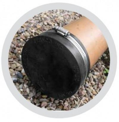 """гибкое окончание pipeconx 4""""/110 mm Pipeconx (США) гибкие резиновые соединения"""