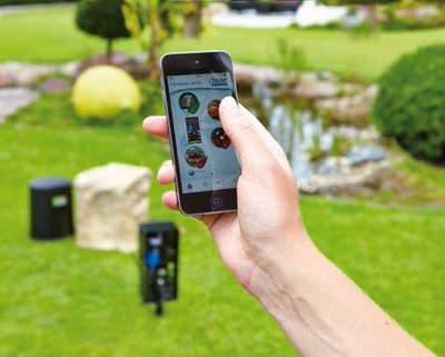 садовая розетка oase inscenio fm-master wlan Oase (Германия) дистанционное управление