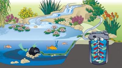 напорный фильтр для пруда oase filtoсlear 30000 Oase (Германия) напорные фильтры для прудов