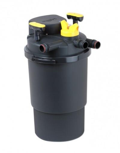 напорный фильтр hagen pressure flo 6000 uv 11 w / 6000л Hagen (Италия) напорные фильтры для прудов