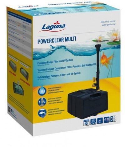 фильтр hagen powerclear multi 3500l 9w Hagen (Италия) погружные фильтры для прудов