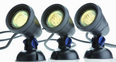 светильник для пруда oase lunaqua classic led set 3 Oase (Германия) подсветка для пруда
