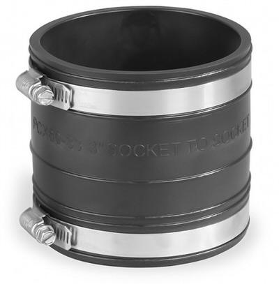 гибкая муфта pipeconx  125 х 125 mm Pipeconx (США) гибкие резиновые соединения