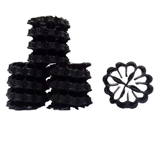 свободноплавающая биозагрузка helix (black) 25 х 25 мм 100 л Helix (Германия) биозагрузка для фильтров