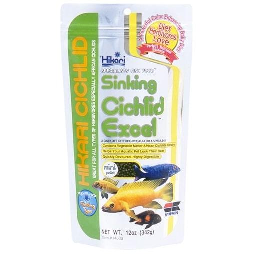 Корм для цихлид Hikari Sinking Cichlid Excel тонущий 0,342 kg