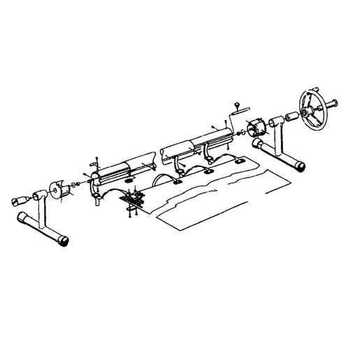 наматывающее устройство (ролета) для солярной пленки vagner 3,7-5,4 м переносное Vagner (Чехия) солярная пленка и наматывающие устройства