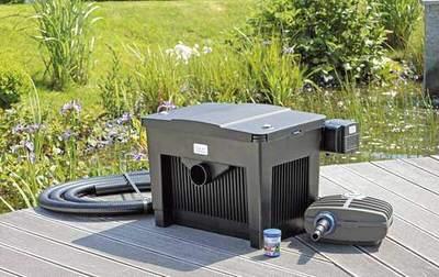 комплект фильтрации для пруда oase biosmart set 18000 Oase (Германия) проточные фильтры для прудов