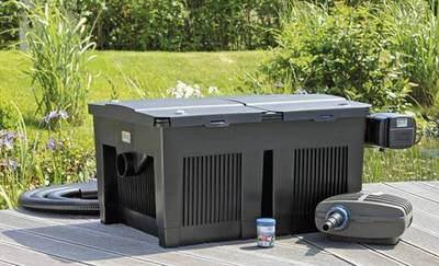 комплект фильтрации для пруда oase biosmart set 24000 Oase (Германия) проточные фильтры для прудов