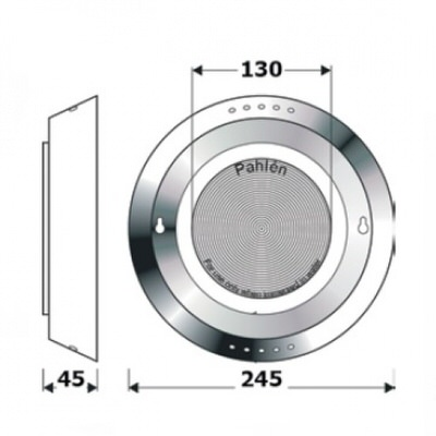 прожектор галогенный pahlen (под плитку) - 300 вт Pahlén (Швеция) подводные прожекторы
