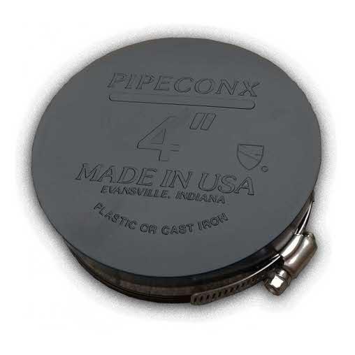 """гибкое окончание pipeconx 3""""/90 mm Pipeconx (США) гибкие резиновые соединения"""