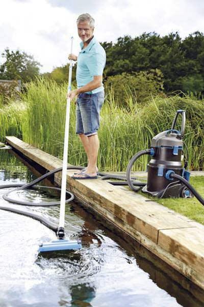 штанга телескопическая для плавающего шланга oase. 2.4 - 4.8м Oase (Германия) пылесосы для пруда и водоема