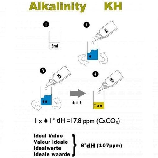 Тест NT Labs Pondlab GH and KH Test Kit
