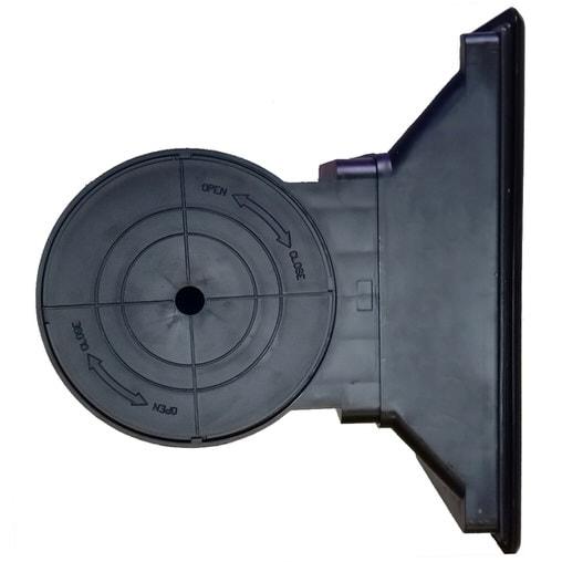 Скиммер для пруда встраиваемый SuperFish Professional black skimmer large