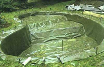 пленка пвх для пруда agrilac 1 мм. зеленая, ширина 8 м (италия) Larex Chemie S.R.L. (Италия) пвх пленка для пруда