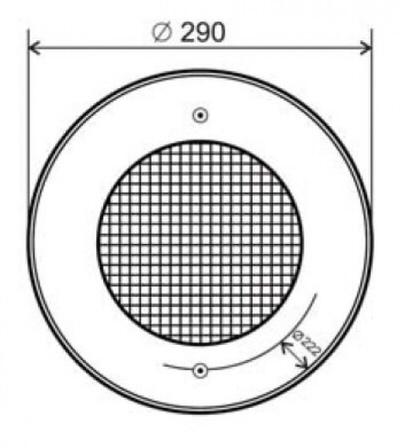 прожектор галогенный kripsol (под плитку) - 300 вт Kripsol (Испания) подводные прожекторы