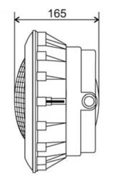 прожектор галогенный kripsol (под лайнер) - 300 вт Kripsol (Испания) подводные прожекторы