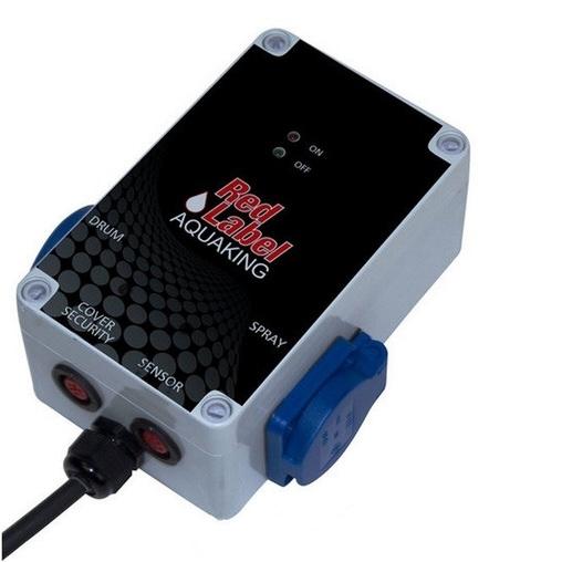 комбинированный барабанный фильтр для пруда (узв) aquaking  red label combi drum 20/25 basic AquaKing (Нидерланды) барабанные фильтры