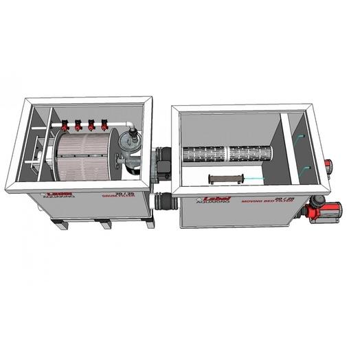 биологический фильтр для пруда (узв) aquaking red label moving bed filter 20/25 AquaKing (Нидерланды) барабанные фильтры
