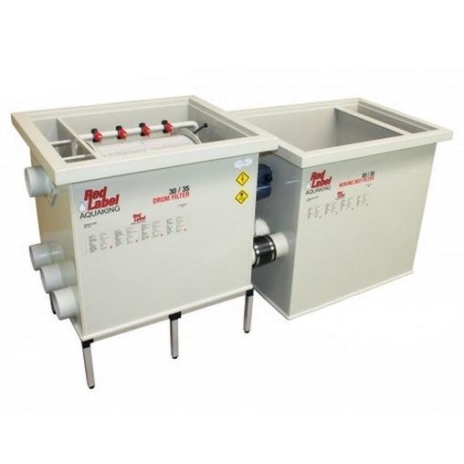 биологический фильтр для пруда (узв) aquaking red label moving bed filter 30/35 AquaKing (Нидерланды) барабанные фильтры