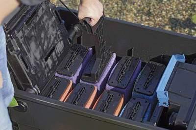 cменные губки для фильтров oase biotec screenmatic 60000/140000, красные/фиолетовые Oase (Германия) сменные фильтрационные вкладыши
