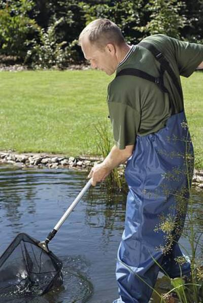 сачок для пруда. oase profi pond net, черный Oase (Германия) сачки