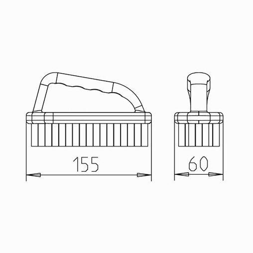 щётка для чистки ватерлинии ocean Peraqua (Австрия) вакуумные очистители, щетки